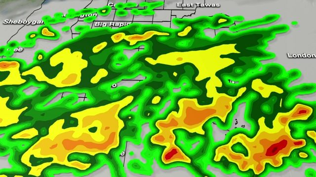 Metro Detroit weather: Thunderstorms, heavy rain this afternoon, overnight