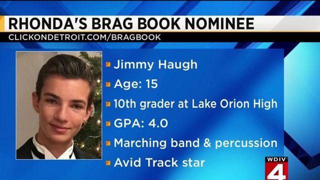 Rhonda's Brag Book: Jimmy Haugh