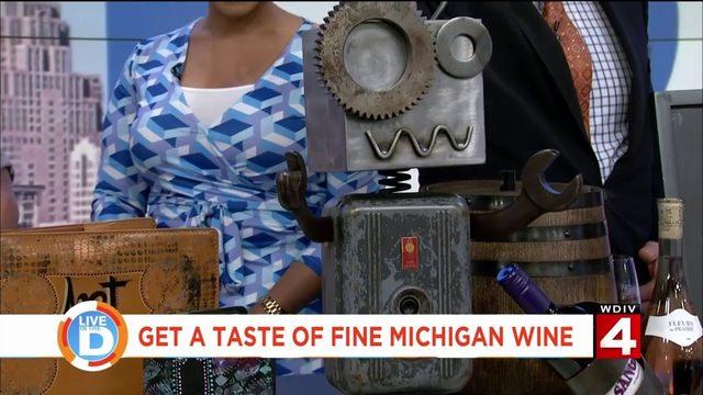 Get a taste of fine art and fine Michigan wine