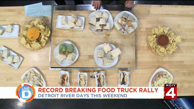 Prepare for Detroit River Days food truck rally this weekend