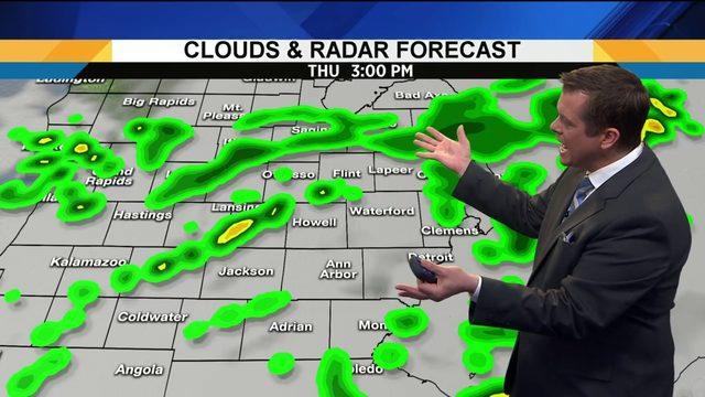 Metro Detroit weather: Cool, rainy day