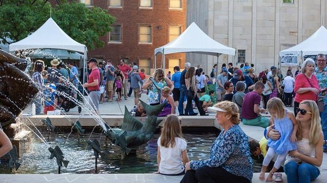 Annual Townie Street Party kicks off Ann Arbor Art Fair July 15