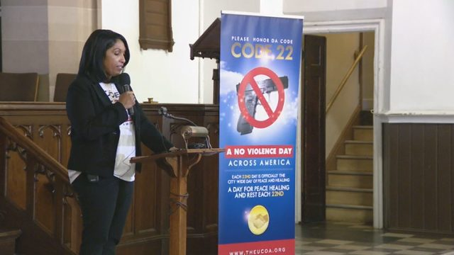 'Code 22' makes renewed push to stop violence in Detroit on 22nd day of…