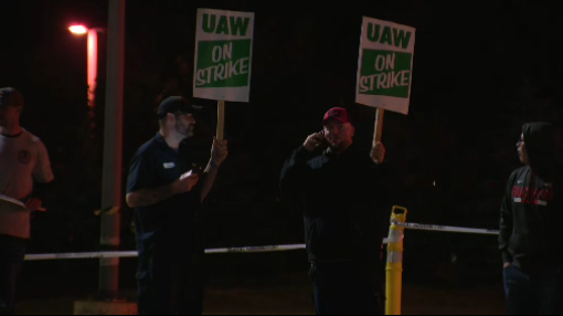 Nearly 2,000 workers at Saline auto parts plant on strike