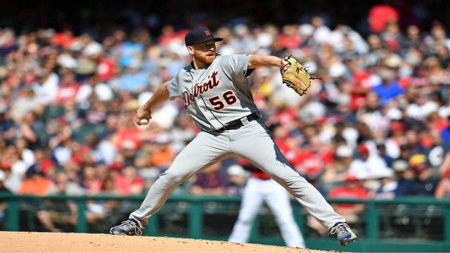 Tigers shut down by rookie pitcher, lose 2-0 to Indians