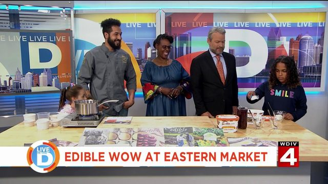 Get your kids cooking with the Edible Wow classes at Eastern Market