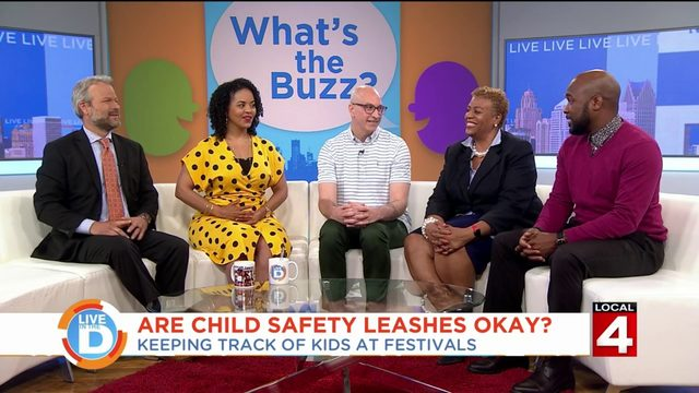 Is it okay to use a safety leash to keep track of your kid?