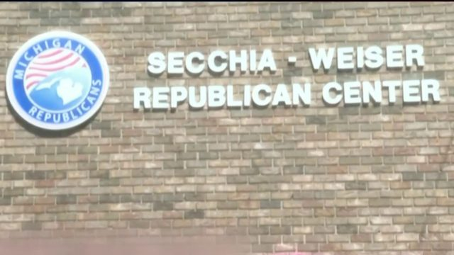 Michigan Republican headquarters in Lansing vandalized with anti-ICE graffiti