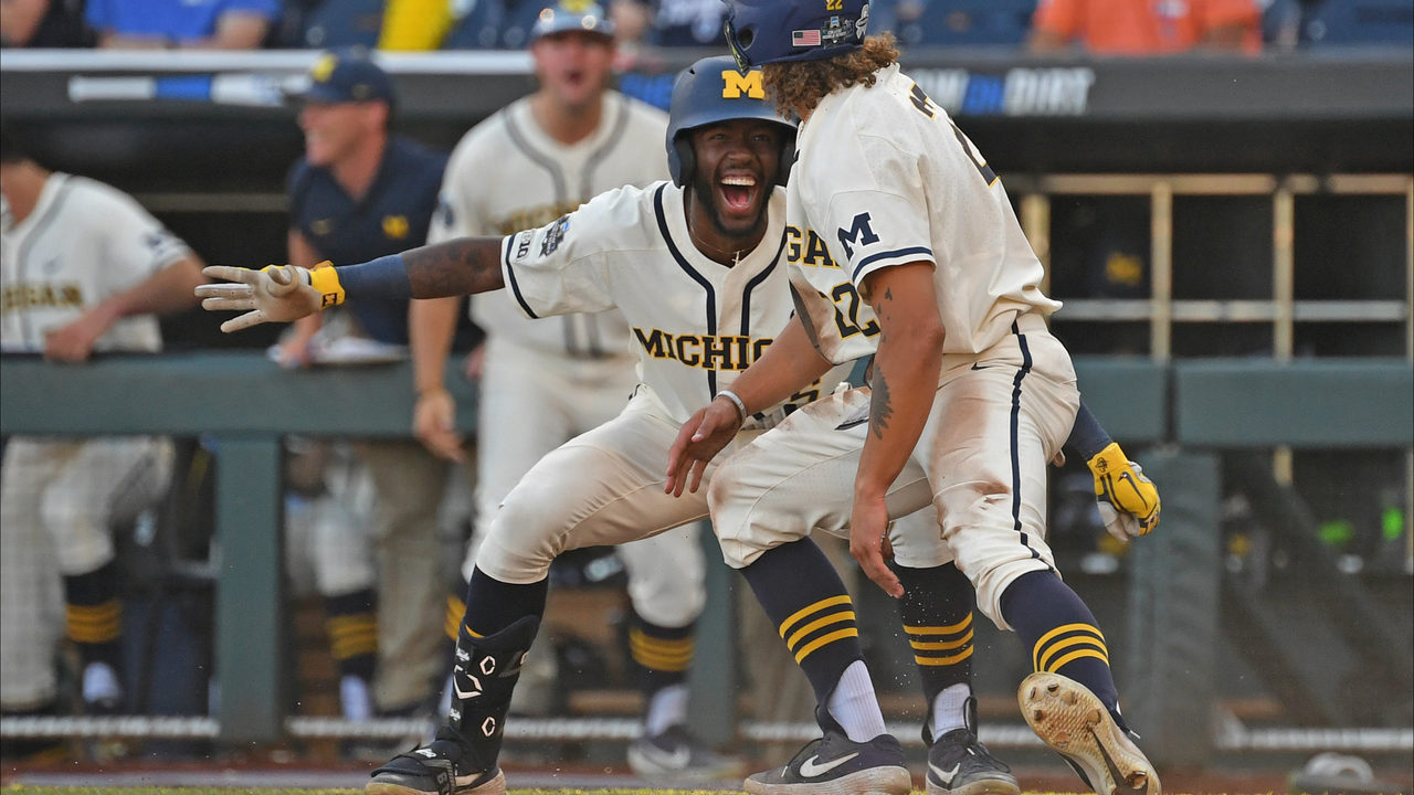 Michigan baseball looks to cap magical College World Series