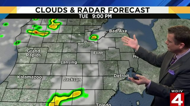 Metro Detroit weather: Heating up to the mid-80s
