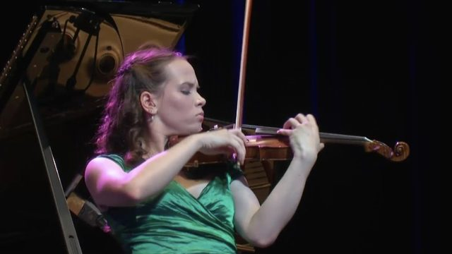 University of Michigan student, violinist defies hearing loss disability