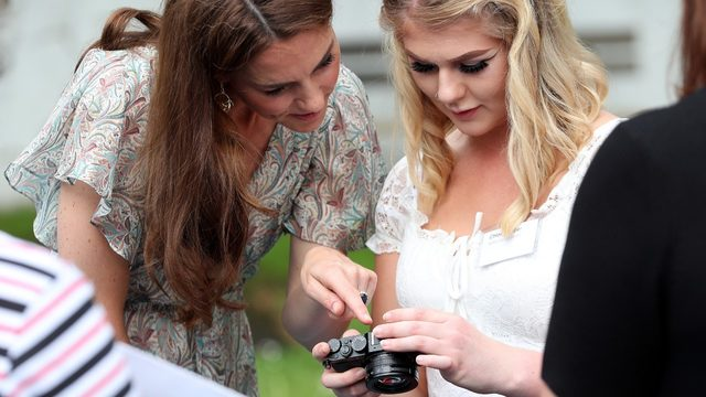 Queen Elizabeth gives photography patronage to Catherine, Duchess of Cambridge