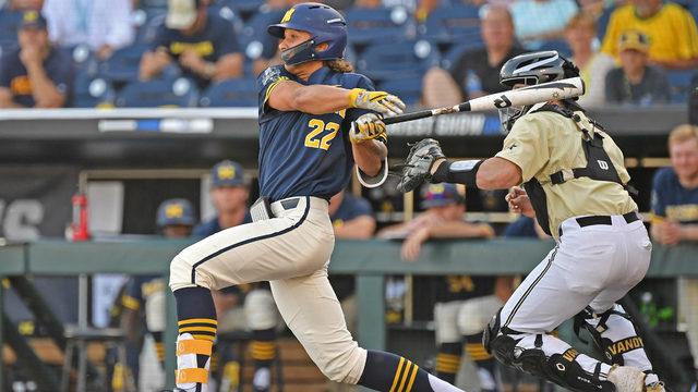 Michigan baseball runs out of magic, falls to Vanderbilt in national…