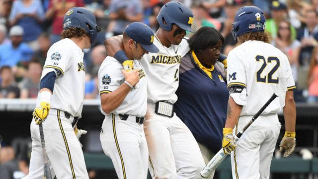 Michigan baseball without leadoff hitter Jordan Nwogu for final national…