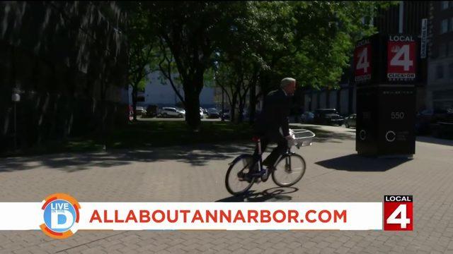 Ann Arbor's bike share program is back!