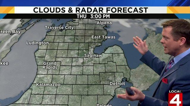 Metro Detroit weather: Mild start with 80s later