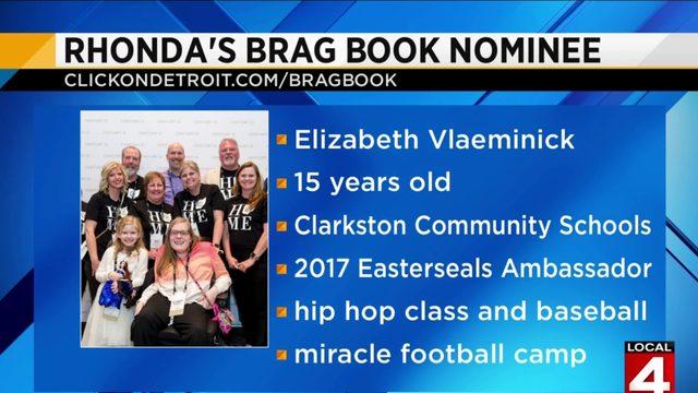 Rhonda's Brag Book: Elizabeth Vlaeminick