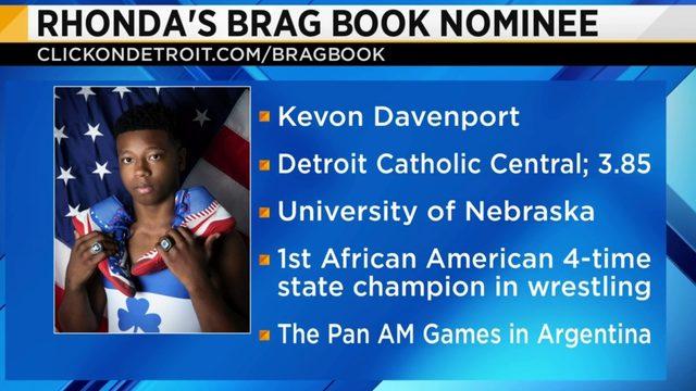 Rhonda's Brag Book: Kevon Davenport