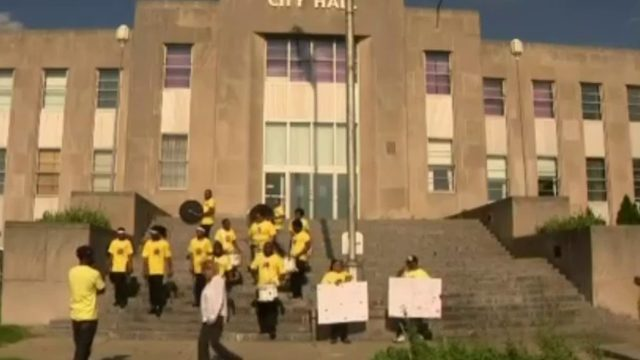 Youth protest Pontiac City Council's decision to cut budget for youth activities