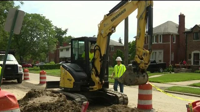 DWSD investing $500 million to upgrade Detroit's water, sewer systems