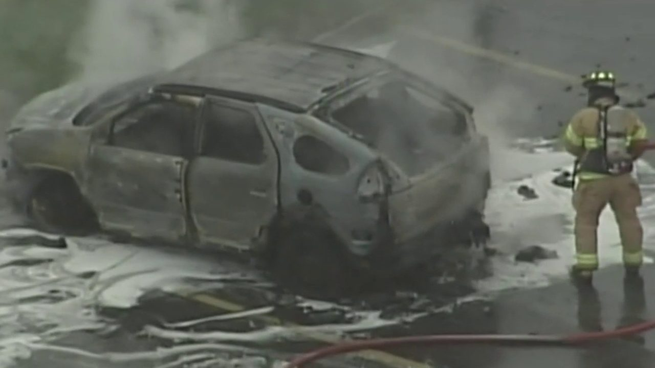 Ohio woman says vape pen caused fire that destroyed SUV in Woodhaven parking lot