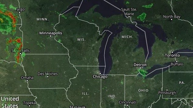 Rain and thunder in Metro Detroit: Track the weather radar here