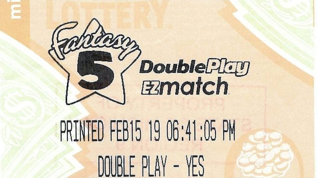 Michigan Lottery: Wayne County man wins half of Fantasy 5 jackpot