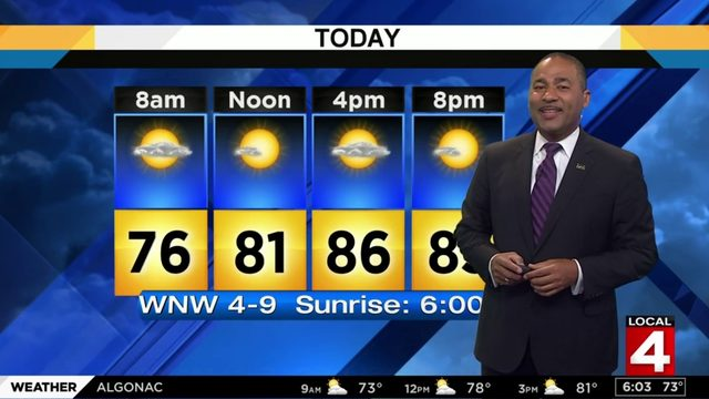Metro Detroit weather forecast: Hot and humid Saturday with slight…