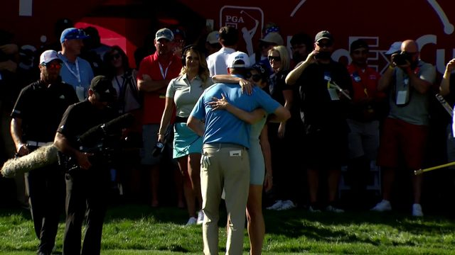 Nate Lashley wins inaugural Rocket Mortgage Classic