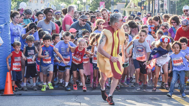 Kick start July 4 with Ann Arbor Sports Commission Firecracker 5K, Mile Fun Run
