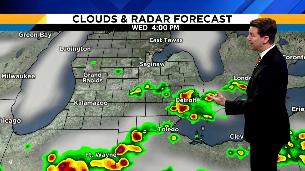 Metro Detroit weather: Relief from heat, humidity after holiday