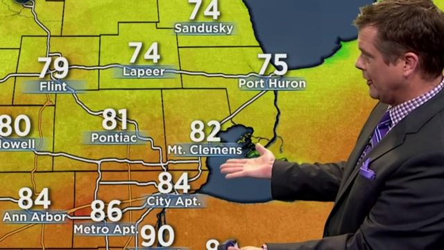 Metro Detroit weather: Steamy conditions with storm chances