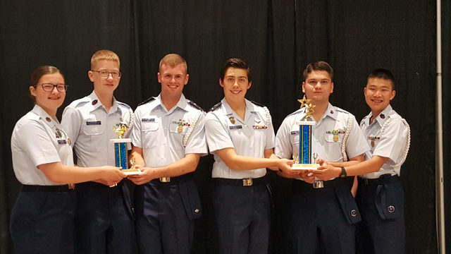 Ann Arbor Civil Air Patrol squadron participates in National Cadet Competition