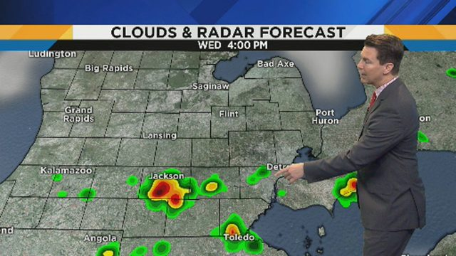 Metro Detroit weather: Tracking thunderstorm chances on Fourth of July