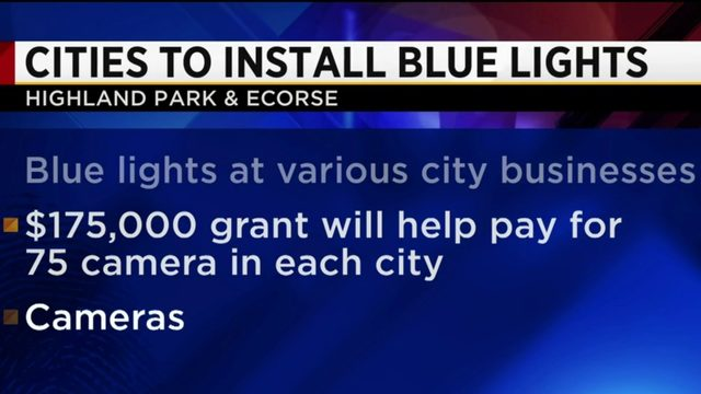 Highland Park, Ecorse to install Blue Lights system to fight crime