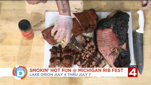 Nothing says summer like enjoying music and food at Rib Fest in Lake Orion
