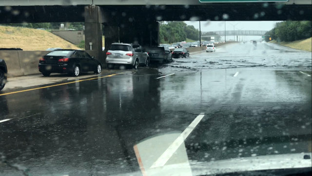 Flooding closes freeways in Macomb County