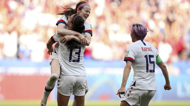 US women's team crowned world champion after 2-0 win over the Netherlands