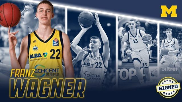 Michigan basketball lands elite German forward Franz Wagner, brother of…