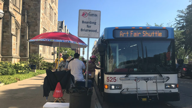 Driving to Ann Arbor Art Fair? Four parking tips to make your trip easier