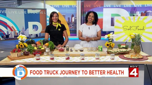 Women takes food truck journey to better health