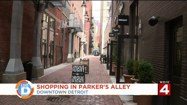 Parker's Alley is the new place to shop in downtown Detroit