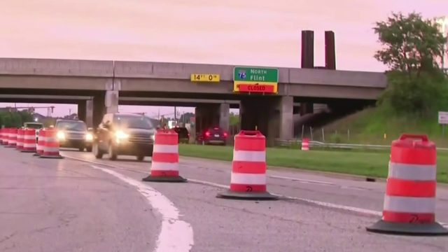 Metro Detroit weekend construction list: Work on I-75, I-94, I-96