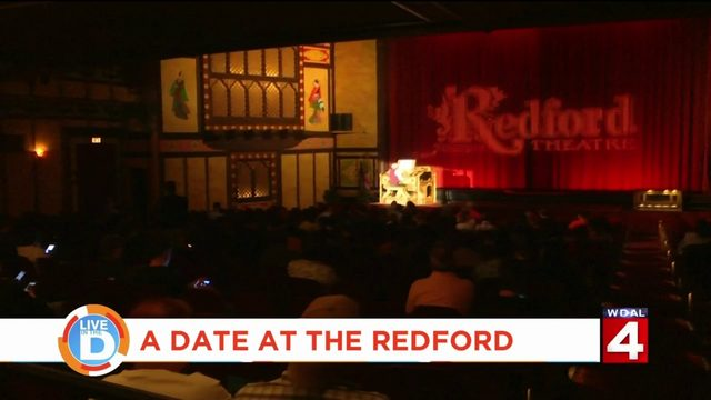 Enjoy a traditional night out watching classic movies at The Redford Theatre