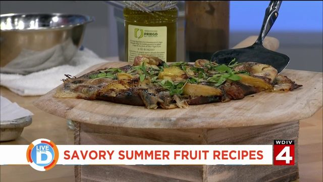 Fruit on the grill? Here's 3 ways to make your summer fruit savory!