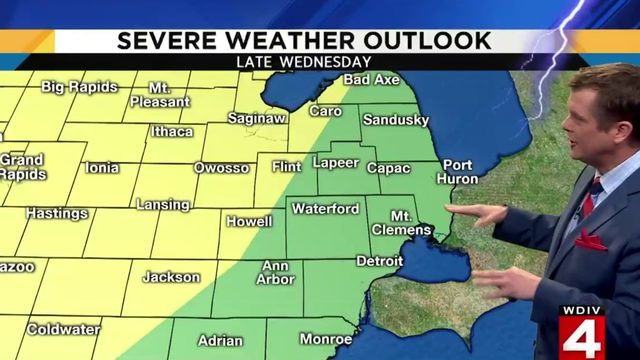 Metro Detroit weather: Great summer day, severe risk later this week