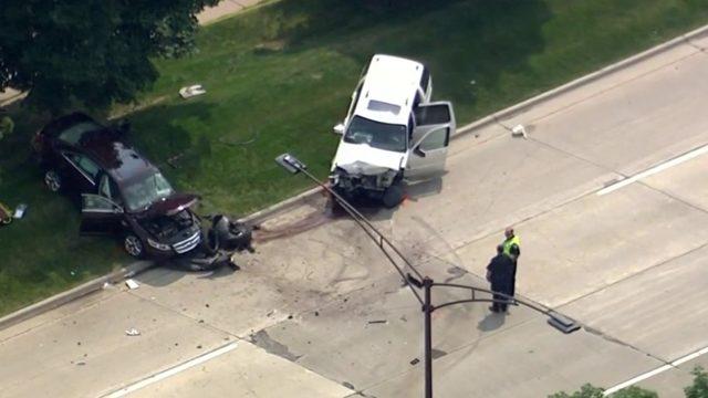 Police investigate deadly crash on Big Beaver Road at John R in Troy