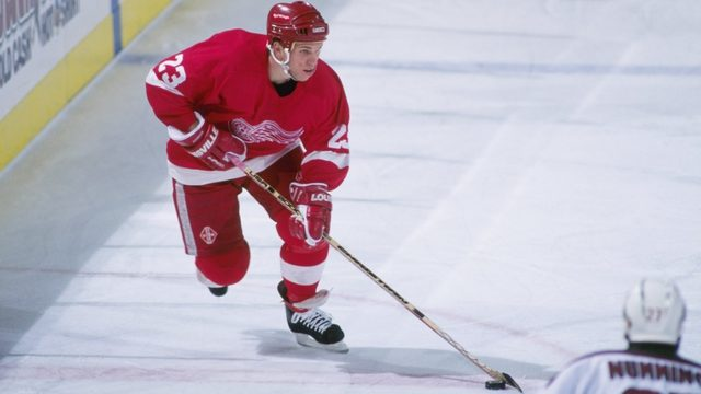 Former Red Wings center Greg Johnson dies at 48