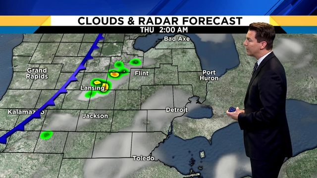 Metro Detroit weather: Slim storm chances Wednesday as humidity spikes