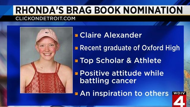 Rhonda's Brag Book: Claire Alexander